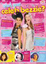 Who's your celeb bezzie? quiz, Girl Talk