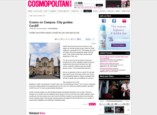 Cardiff city guide, Cosmopolitan.co.uk